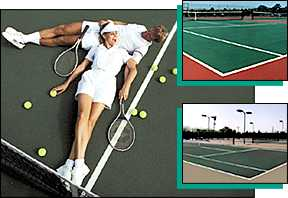 SportMaster Tennis Court Images